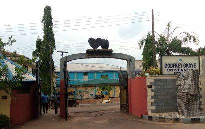 Press Release:                Godfrey Okoye University Enugu Promotes Eighteen Academic Staff to the Ranks of Professors, Associate Professors and Senior Lecturers