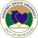 Godfrey Okoye University Enugu Donates University Produced Hand Sanitizers to Enugu State Government