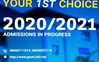 Godfrey Okoye University, Enugu Commences Admissions Into 2020/2021 Session